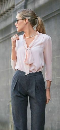 48 Professional Work Outfits Ideas for Women to Try