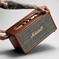 Marshall Amp-like Bluetooth Speaker
