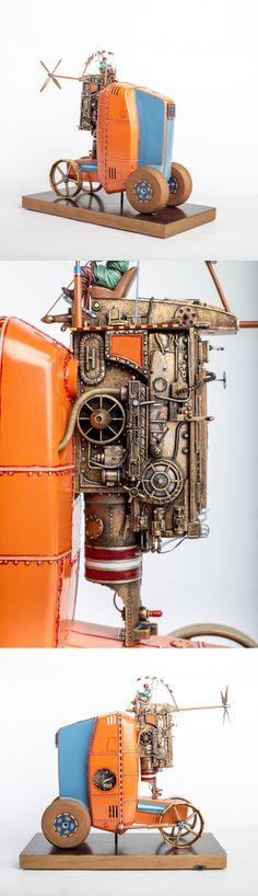 "Kosmotroniks ""Tractor"" by Harry Arling By Kuhn Global http://www.modelermagic.com/?p=65691"