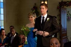 Still of Allison Mack and Justin Hartley in Smallville