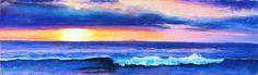 """Glow"" 3x9"" pastel http://takeyceart.com/blog"