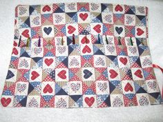 Crochet Hook or Paint Brush Case Organizer by CountryCrafting, $10.00