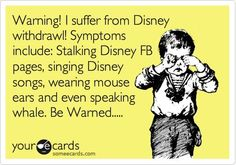 I definitely felt this way after my first trip to Disney World in 2011 (at age 49)...& will feel that way again after my next visit in 2013!