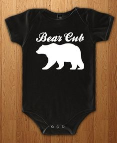 3b7ef730a Bear Cub Bodysuit New Baby Onesie Pregnant Surprise Tee Family Pregnancy  Announcement New Dad Gift Preggers Father Gift Idea Papa