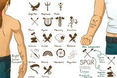 C-J Tattoo Reference Sheet by chiyokins.deviantart.com on @DeviantArt