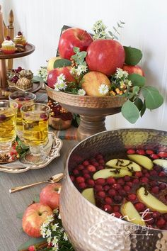 Cider and Sweets:  A