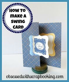 Obsessed with Scrapbooking: Close to My Heart Artiste Square Swing Card