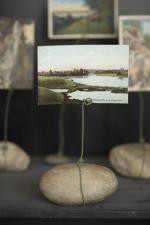Aprenda a fazer um porta-retratos utilizando pedras