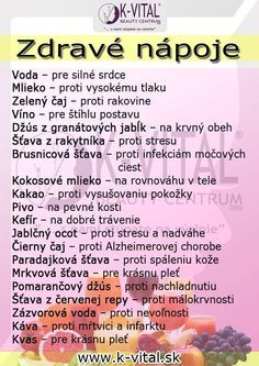 zdravé nápoje Healthy Juice Drinks, Healthy Juices, Beauty Detox, Health And Beauty, Dieta Detox, Healing Herbs, Natural Medicine, Easy Workouts, Natural Health