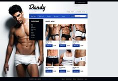 Dandy Store osCommerce Templates by Elza