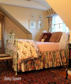 Betsy Speert's Blog: Sometimes Furniture Has to go in Front of Windows!!!