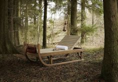 explorersled chalet sled sun lounger / daybed