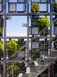 """""""The vegetation wall was installed in a multi-purpose building late last summer and is located just steps from Odawara Station."""""""