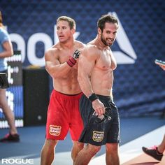 """hot-olympians-and-athletes: """" Crossfit Muscle Buddies Rich Froning and Dan Bailey """" Froning Crossfit, Crossfit Men, Crossfit Motivation, Crossfit Athletes, Gym Men, Male Athletes, Best Ab Workout, Butt Workout, Fitness Gym"""