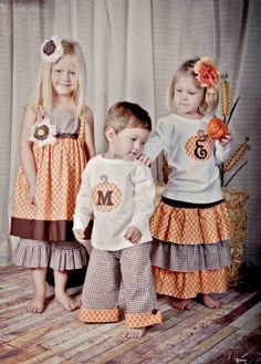 Fall sibling outfits project-ideas