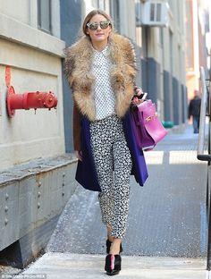 Tibi Hexadot Peekaboo Blouse, Fendi Fur-Trimmed Patent Leather Ankle Boots, Diane von Furstenberg Bell Fur Collar Coat, Delvaux Tempete satchel...
