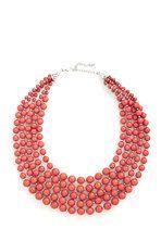 You Bijou Necklace in Strawberry | Mod Retro Vintage Necklaces | ModCloth.com