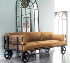 Мебель ручной работы. Диван лофт, (кожа). Павел Рыбальченко (Rybalchenko)…