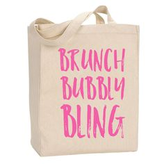 Brunch Bubbly Bling Tote