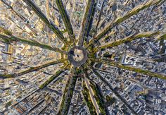 Photo Arc de Triomphe, Paris, France by AirPano on 500px