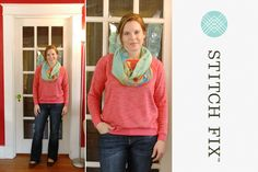 """OMG Stitch fix, I love these """"non skinny"""" jeans! Please send to me."""