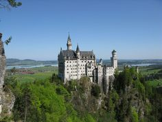 Neuschwanstein Castle, Bavaria, Germany. Stunningly beautiful.