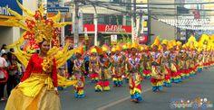 Cagayan de Oro Carnival Parade Clash of Festive Acts and Carnival Queens Carnival Parade, National High School, Acting, Costumes, Activities, Cagayan De Oro, Party, Dress Up Clothes, Fancy Dress
