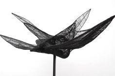 Magdalena Abakanowicz (Polish Scuptress, born 1930) 'Bird 1'
