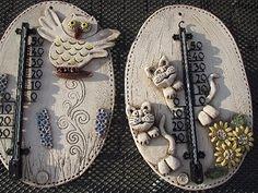 nabízím teploměry venkovní, vyrobeno z keramiky, na