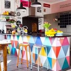 Sunday fun day!! Feliz domingo #decor #decoracion #interiorismo #color #style #trend #tendencia #bar