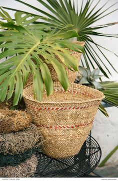 To add a dash of local African flair to your home, display hand-woven baskets that double up as a nifty storage solution. Basket Weaving, Woven Baskets, Hand Weaving, Home Decor Inspiration, Decor Ideas, Traditional Decor, Home Decor Kitchen, Retail Therapy, Interiores Design