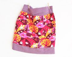 MINI MEDIUM #Girl Skirt #pattern #Pdf #sewing #pattern  di PUPERITA