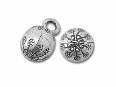 Hill Tribe Silver Round Bell