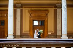Indiana State House and Scottish Rite Cathedral | Indianapolis Wedding Photography | Ian and Sarah