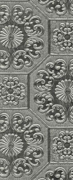 Czar is an embossed metallic foil and pearl wallpaper creating a traditional geometric, textured tile design. Waverly Wallpaper, Pearl Wallpaper, Wallpaper Ceiling, How To Hang Wallpaper, Wallpaper Uk, Embossed Wallpaper, Textured Wallpaper, Pattern Wallpaper, Paintable Wallpaper