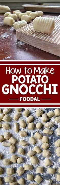Curious about how to make potato gnocchi from scratch? We have the perfect recipe for you! Take a look at our article to get the best advice for making our doughy delights! With just potatoes, flour, eggs, and salt, these delicious dumplings may become yo