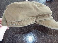 Merrell Hat News Boy Style size One Size,Army Green, EUC,  #Merrell #NewBoy #Casual