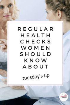 Regular health checks for women