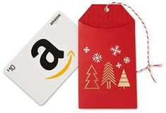Amazon.com $10 Gift Card in a Holiday Gift Tag (Classic White Card Design) - http://www.darrenblogs.com/2016/12/amazon-com-10-gift-card-in-a-holiday-gift-tag-classic-white-card-design/