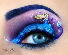 Tal Peleg's Eye Art Recreates Your Favorite Movies and Fairy Tales - Cube Breaker