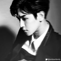 Twitter / SMTownFamily: {OFFICIAL} 140414 Exo's Overdose Unreleased teaser photos - Baekhyun