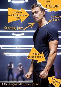 Theo James Discusses Training for The Divergent Movie Divergent Theo James, Divergent Four, Divergent Hunger Games, Tris And Four, Divergent Fandom, Divergent Trilogy, Divergent Insurgent Allegiant, Divergent Quotes, Tobias