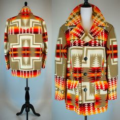 Pendleton Indian Blanket Jacket
