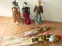 Five Wooden Wayang Golek Indonesian Stick Puppets | Other Antiques, Art & Collectables | Gumtree Australia Launceston Area - Prospect | 1139176655
