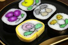 Decorative sushi, sushi with tamago