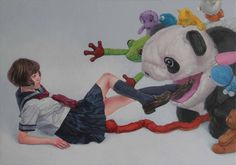 Surreal and Disturbing Loss of Innocence Paintings