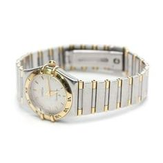 Omega Two-Tone Stainless Steel Constellation Women's Watch