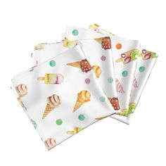 Shop unique pillows, tea towels, cloth napkins, and more designed by independent artists from around the world. Cloth Napkins, Textile Design, Tea Towels, Spoonflower, Watercolor Art, Clip Art, Textiles, Creative, Diy