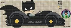 Batman Cross Stitch Letters, Cross Stitch For Kids, Cross Stitch Books, Cute Cross Stitch, Beaded Cross Stitch, Cross Stitch Embroidery, Hero Crafts, Snitches Get Stitches, Knitting For Kids