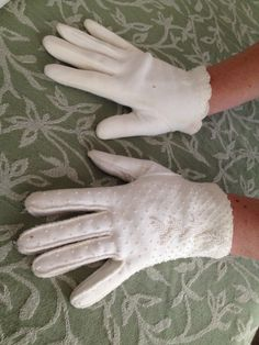 Two Pairs of Vintage Gloves $12 shipped each